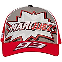 da7bffee807 Marc Marquez 2018 Honda MotoGP 93 Kids Logo Baseball Cap Red Childrens One  Size