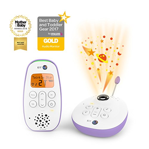 BT Digital Audio Baby Monitor 450 Lightshow