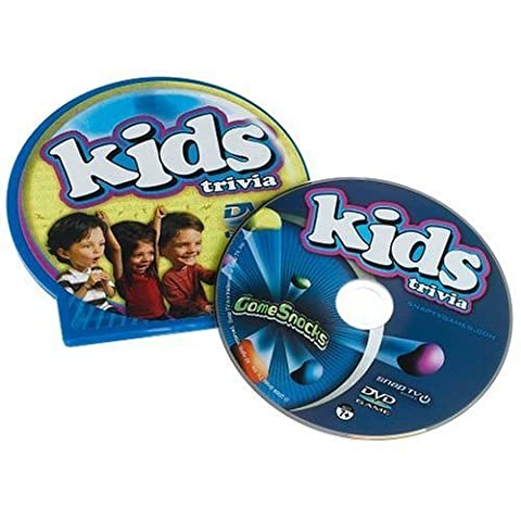 Game Snacks - Kids Trivia DVD Game by Snap TV,