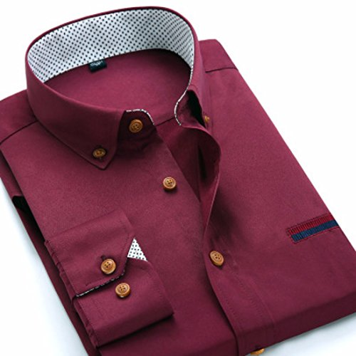 Mens Herren Hemden Wihte Formal Imported Shirts CK19