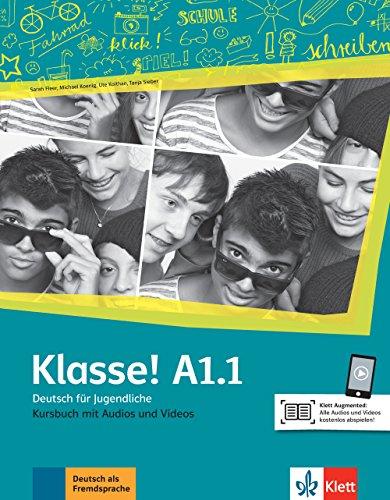 Klasse! a1.1 libro del alumno + audio