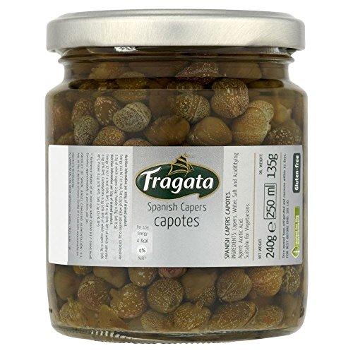 Fragata espagnol Capers - Capotes (240g) - Paquet de 6