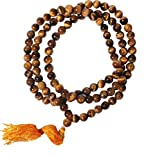 #5: Tiger Eye / Tiger Stone Mala ( 6 mm ) 108+1 Beads For Courage & Self confidence