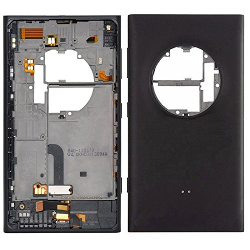 JINYANG Cover Posteriore per Nokia Lumia 1020 (Nero), Cover Posteriore per Telefono Nokia (Colore : Black)