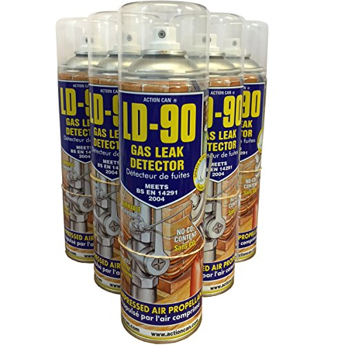 Price comparison product image (PACK OF 2) 400ml LD-90 Gas Leak Detector Spray - VOSA approved gas leak spray