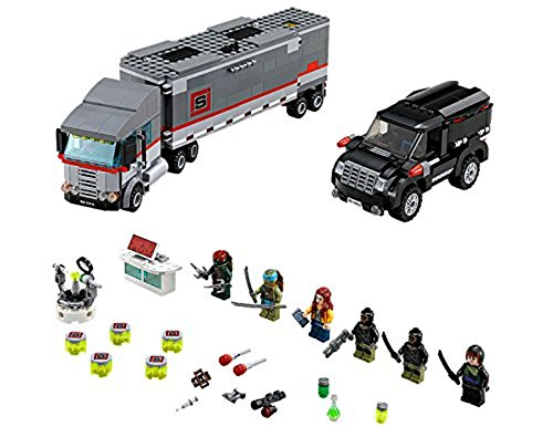 LEGO Teenage Mutant Ninja Turtles - 79116 - Jeu De Construction - L'évasion En Camion