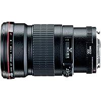 Canon EF 200mm f/2.8L II USM - Objetivo para Canon (distancia focal fija 200mm, apertura f/2.8-32, diámetro: 72mm) negro
