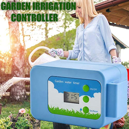 duhe189014 Automatic Plant Watering Pump Controller Electronic Timer DIY Micro-drip Irrigation System Water Pump Button Type Flower Sprayer Automatic Watering Device Intelligent Controller -