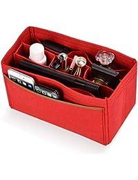 Lx-Top Felt Insert Bag Organizer Bolsa de Fieltro Organizador Insertar Multi-Bolsillo Talladora