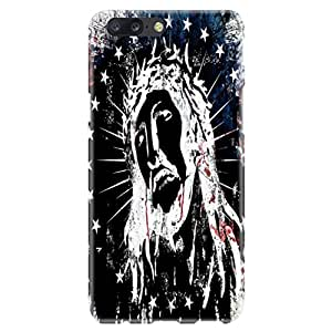 iSweven OnePlus 5 case, printed designer slim fit hard case cover, light weight 360 degree protection, matte finish back cover for one plus 5 (Star Girl design)