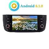 XISEDO Android 8.1.0 Autoradio 6.2' Quad Core In-dash Car Radio Navigatore GPS per Fiat Linea/Fiat Grande Punto (Autoradio)