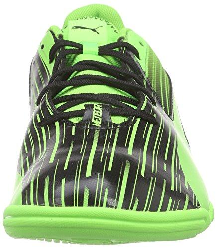 Puma Meteor Sala Lt, Chaussures de Futsal Homme Noir - Schwarz (black-green gecko 06)