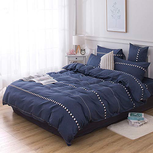 BFMBCH New Home Bedroom Supplies, Cotton Sheets, Single Sheet Set J 200cm*230cm