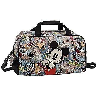 Disney Mickey Comic Bolsa de Viaje, 25.88 Litros, Color Varios Colores