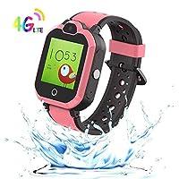 9Tong Waterproof Phone Kid Smart Watch Tracker GPS Camera Kids Smart Watches Phone Games Child Smart Watch New 4G Alarm Clock SOS