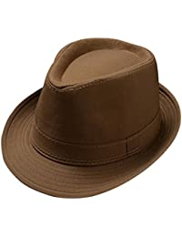 Kentop Jazz Sombrero Fedora Sombrero Sombrero de Paja Sombrero Panama  Fedora Sombrero Sombrero 6066c5f84db