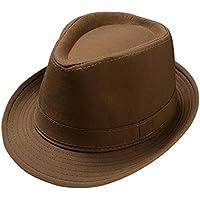 Leisial Anti-UV Panama Cappello Stile Inglese Due Colori Cappello di Paglia  Primavera Estate Cappello 67652ea997a4