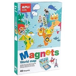 Apli Kids Set magnetisch Weltkarte (16494)