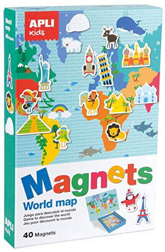 APLI Kids - Magnetic world map game