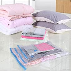Cartshopper HighQuality Vacuum Bag Compressed Bag Space Saved Seal Compression Storage Bags for Storing Clothes
