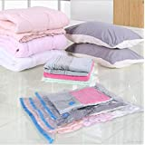 Cartshopper HighQuality Vacuum Bag Compressed Bag Space Saved Seal Compression Storage Bags for Storing Clothes (80 X 120)