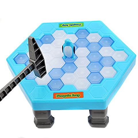 Rcool Child Kid Save Penguin Game Break Ice Block Hammer Trap Education Toy Puzzle Toy Gift