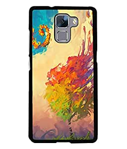 99Sublimation Designer Back Case Cover for Huawei Honor 7 :: Huawei Honor 7 (Enhanced Edition) :: Huawei Honor 7 Dual SIM (Biblical Flood Antiseptic Thoroughly Clean Free DiseaseCausing)