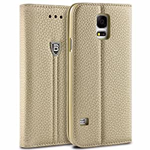 brand new ec9c4 6008c Samsung Galaxy S5 Case BEZ Wallet Flip Case for Samsung Galaxy S5/S5 NEO  Protective Faux Leat