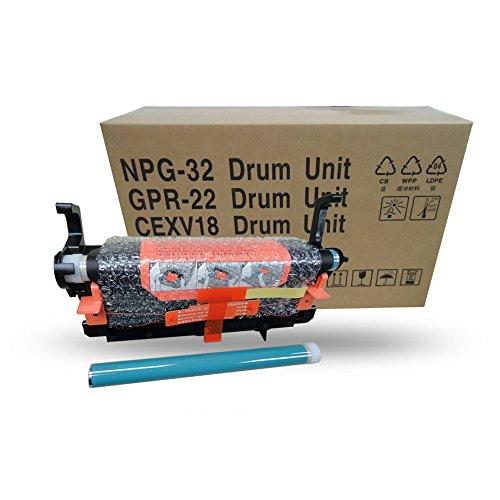 aotusi 1Kopie Maschine Drucker Tonerkartusche Trommeleinheit kompatibel für Canon Unterschrank iR1018IR1019ir1012IR1024gpr-22npg-32C-exv18Kopierer Teile