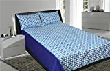 Home Colors Polka Dot Printed Double Bed...