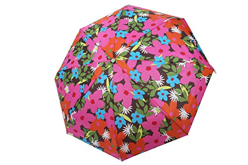rain-street-folding-umbrella-floral-party-automatic-wind-resistant-red