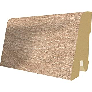 Egger 763977 L283 Sockelleiste MDF-Holzleiste Laminat, Woodwork Eiche, 240cm