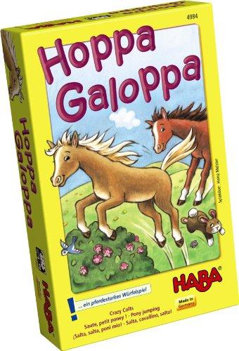 Haba 4984 - Kinderspiel - Hoppa Galoppa