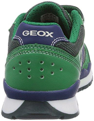 Geox Pavel A Jungen Sneaker Grün (GREEN/BLUEC3034)