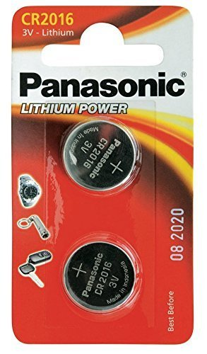 CR2016 Moneta Batteria Pacco x 2 / Litio 3V /