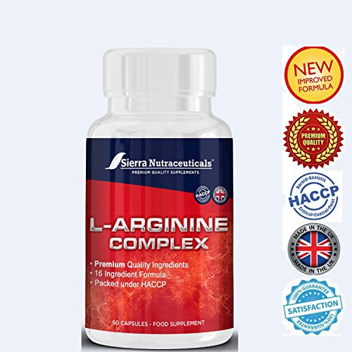 51UUsBmC2WL. SS500  - #1 Extra Strength L-Arginine for Men & Women. Nitric Oxide Booster for Muscle Growth.Supports Healthy Cholesterol,Energy Levels for Active Lifestyles