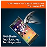 AE CURVED TEMPERED Glass Screen Scratch Protector for Lenovo P70 | 2.5D | 9H Hard