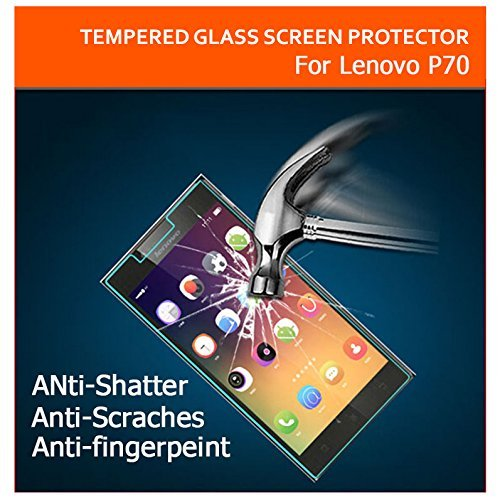 AE MOBILE ACCESSORIES AE CURVED TEMPERED Glass Screen Scratch Protector for Lenovo P70 | 2.5D | 9H Hard