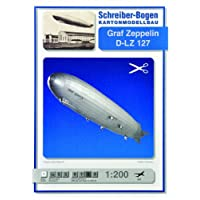 "Aue-Verlag 118 x 15 x 15 cm Graf Zeppelin D LZ 127"" Aircraft Model Kit"