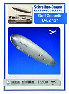 Maquette en carton : Graf Zeppelin D-LZ 127