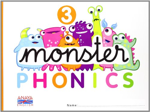 Monster Phonics 3. (Anaya English) - 9788467832754 por Tracey Chapelton
