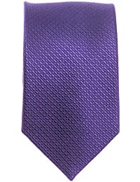Schmale Krawatte - Seidenkrawatte uni verschiedene Modelle