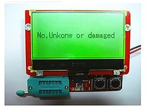 GAOELE 12864 Testeur LCD ESR de capacité pour transistor diode triode MOS NPN RLC