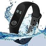 Piesome Intelligence Bluetooth Health Wrist Smart Band Watch Monitor/Smart Bracelet/Health Bracelet/Smart Watch for Mens...