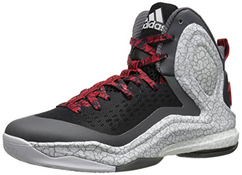 Adidas D Rose 5 Boost Laufschuhe Black/White/Grey
