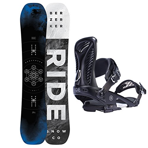 Ride Messieurs Freestyle Snowboard berzerker Wide 160 cm avec Ride Capo Reliure