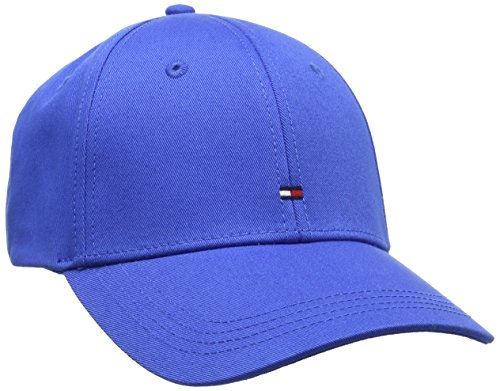 Tommy Hilfiger Herren Baseball Classic Bb Cap, Blau (Strong Blue 901), One Size