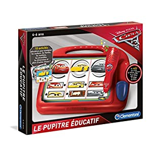 Clementoni – 52232-pupitre educativo – Cars 3-jeu educativo