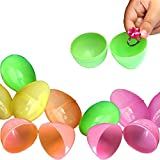 #6: Toy Cubby Colorful Plastic Easter Eggs 144 Pieces