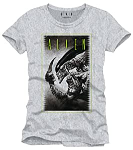 Alien - T-Shirt Cover To Be Or Not gris (M)